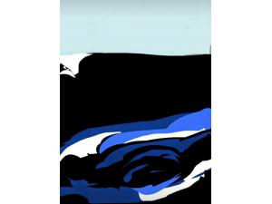 Horizon Black, Sea Blue